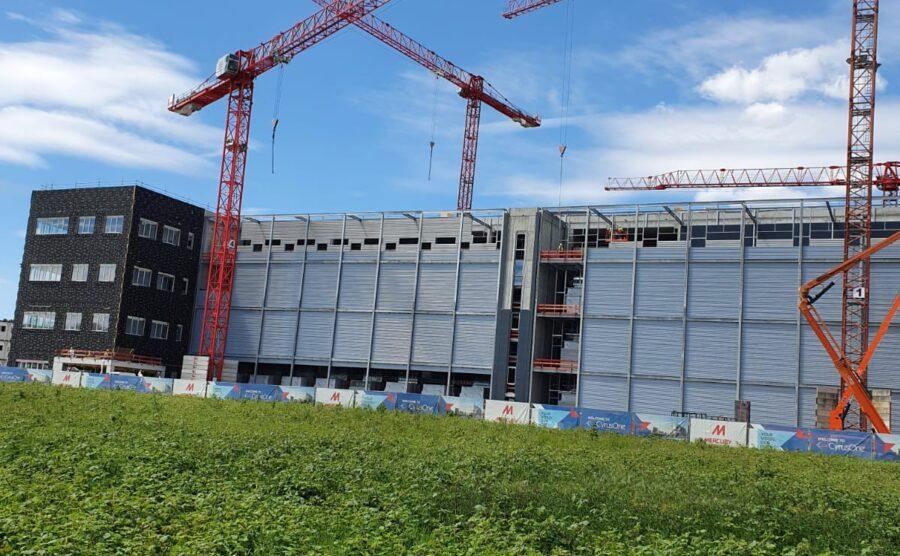 Staalconstructies en bordessen Datacenter FF3